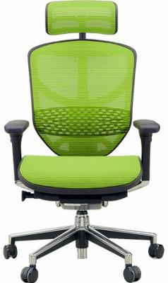 エルゴヒューマン エンジョイ ハイバック ハイブリット機能 パソコンチェア PCチェア ゲーミングチェア ゲーム 株 オフィスチェア 学習椅子 学習チェア 仕事用チェア 事務いす 事務椅子 チェア イス 高級感 かっこいい 橙 オレンジ EJ-HAM-HB KMD33