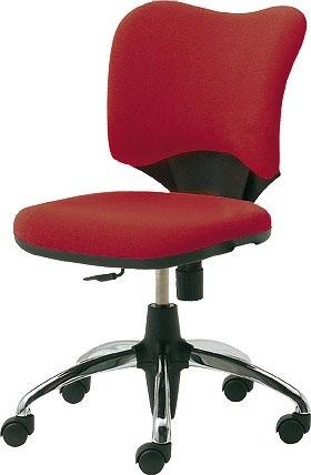 PLUS プラス Prop プロップ パソコンチェア オフィスチェア ワークチェア PCチェア 学習チェア 事務椅子 事務チェア 勉強椅子 学習椅子 キャスター付き 長時間作業 おすすめ デスクワーク 長時間 日本製 国産 肘付き レッド 赤 KC-A95SEL-U