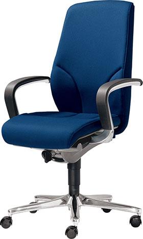 giroflex ジロフレックス 64 ハイバック パソコンチェア PCチェア ワークチェア オフィスチェア 仕事用チェア デスクチェア 学習チェア 学習イス 事務椅子 後傾姿勢 デスクワーク おすすめ 疲れにくい イス 椅子 いす 肘付き 青 ブルー 64-9278RCS