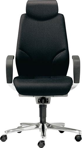 giroflex ジロフレックス 64 エキストラハイバック パソコンチェア PCチェア ワークチェア オフィスチェア デスクチェア 学習チェア 学習イス 事務椅子 後傾姿勢 デスクワーク 疲れにくい イス 椅子 肘付き ヘッドレスト付き ブラック 黒 64-9778RCS