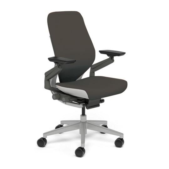 Steelcase スチールケース Gesture ジェスチャー チェア ワークチェア オフィスチェア パソコンチェア PCチェア 事務椅子 事務チェア 学習椅子 フィット 長時間 作業 疲れにくい 腰 サポート シェルバック ライト ルートビア K-442A30LL