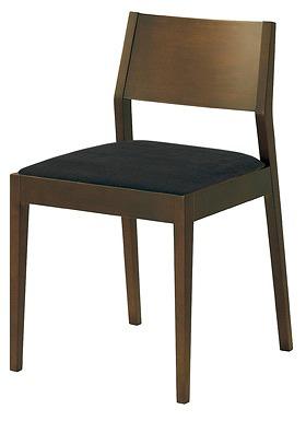 ダイニングチェア ダイニングチェアー リビングチェア リビングチェアー フロー 木製チェア チェア チェアー 椅子 いす イス chair インテリア シンプル ダイニング リビング 食卓 デザイン 木製 おしゃれ 肘なし ブラウン 黒 ブラック UP2241