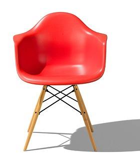 ハーマンミラー HermanMiller イームズシェルアームチェア チェア 北欧 北欧家具 家具 ダイニングチェア ダイニング シンプル 椅子 いす イス chair おしゃれ かわいい インテリア リビングチェア リビング DAW ZE レッド  赤