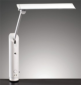 山田照明 Zライト Z-LIGHT LED照明 LED デスクライト 照明 仕事デスク用 仕事机用 学習デスク用 学習机用 クランプ式 おしゃれ クランプライト 卓上 目に優しい スタンドライト デスクスタンド ライト照明 読書灯 ledライト Z-3600B 白 ホワイト