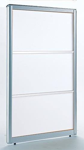 【アウトレットセール】 パーテーション 白 幅90cm ( パネルAP 間仕切りパネル 間仕切パネル フロアパネル フロア仕切り 衝立て パーティション 仕切り 仕切 ブース 透明パネル パネル 明るい 幅900mm 高さ1400mmタイプ 高さ140cmタイプ )