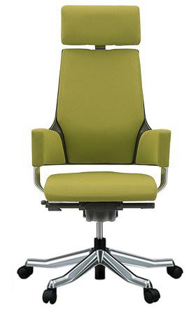MERRYFAIR DELPHI デルフィチェア パソコンチェア PCチェア 事務椅子 事務チェア オフィスチェア ゲーミングチェア かっこいい スタイリッシュ モダンチェア キャスター付き ハイバック 布張り ヘッドレスト付き 布
