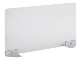 Garage ガラージ 目隠しパネル デスクパネル パネル サイドパネル スクリーン アクリル製 フロントパネル トップパネル パーテーション パーティション 集中 スペース プライバシー 目隠し 視線隠し 視線 幅125×奥行700×高さ360mm 半透明