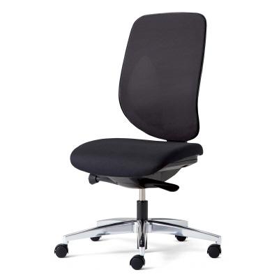 giroflex ジロフレックス 353 パソコンチェア ハイバック PCチェア ワークチェア 仕事用チェア デスクチェア 後傾姿勢 デスクワークにおすすめ 疲れにくい チェア 椅子 chair オフィス 肘なし アルミ脚 在宅