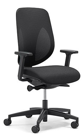 giroflex ジロフレックス 353 パソコンチェア ハイバック PCチェア ワークチェア 仕事用チェア デスクチェア 後傾姿勢 デスクワークにおすすめ 疲れにくい チェア 椅子 chair オフィス アジャスト肘付き 樹脂脚