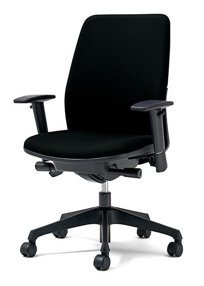 PLUS プラス カイルチェア Kaileチェア パソコンチェア PCチェア オフィスチェア デスクチェア 事務イス 事務椅子 学習チェア 勉強椅子 シンプル 椅子 イス チェア chair キャスター付き 疲れにくい ハイバック アジャスト肘 在宅