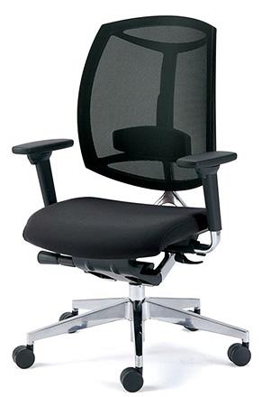 PLUS プラス Foresight フォーサイト オフィスチェア デスクチェア ワークチェア ビジネスチェア パソコンチェア PCチェア 事務椅子 事務チェア 学習チェア メッシュチェア チェア チェアー 椅子 いす イス シンプル 肘付き