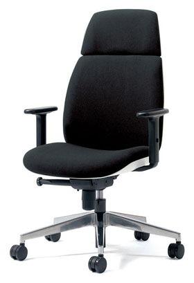 PLUS プラス ユーチェア Uチェア ワークチェア オフィスチェア パソコンチェア イス チェア 椅子 事務椅子 事務チェア 学習チェア 仕事用チェア カラフル キャスター付き ハイバック アルミ脚 アジャスト肘 肘付き