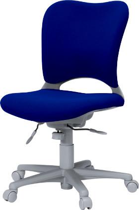 PLUS プラス オーバルチェア OCチェア パソコンチェア PCチェア オフィスチェア デスクチェア 事務椅子 事務イス 学習チェア 椅子 イス チェア chair 前傾姿勢 キャスター付き 疲れにくい ハイバック カーペット用キャスター