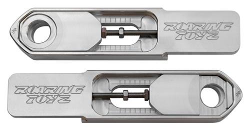 ローリングトイズ(Roaring Toyz)GSXR 600/750[04-05] 1000[03-04] スイングアームエクステンションGSXR 600/750[04-05] 1000[03-04] Swingarm Extentions Billet Finish