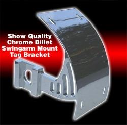 ローリングトイズ(Roaring Toyz)アクスルマウントナンバーブラケット,クロームChrome Plated Axle Mount License Plate Bracket GSXR Fitment