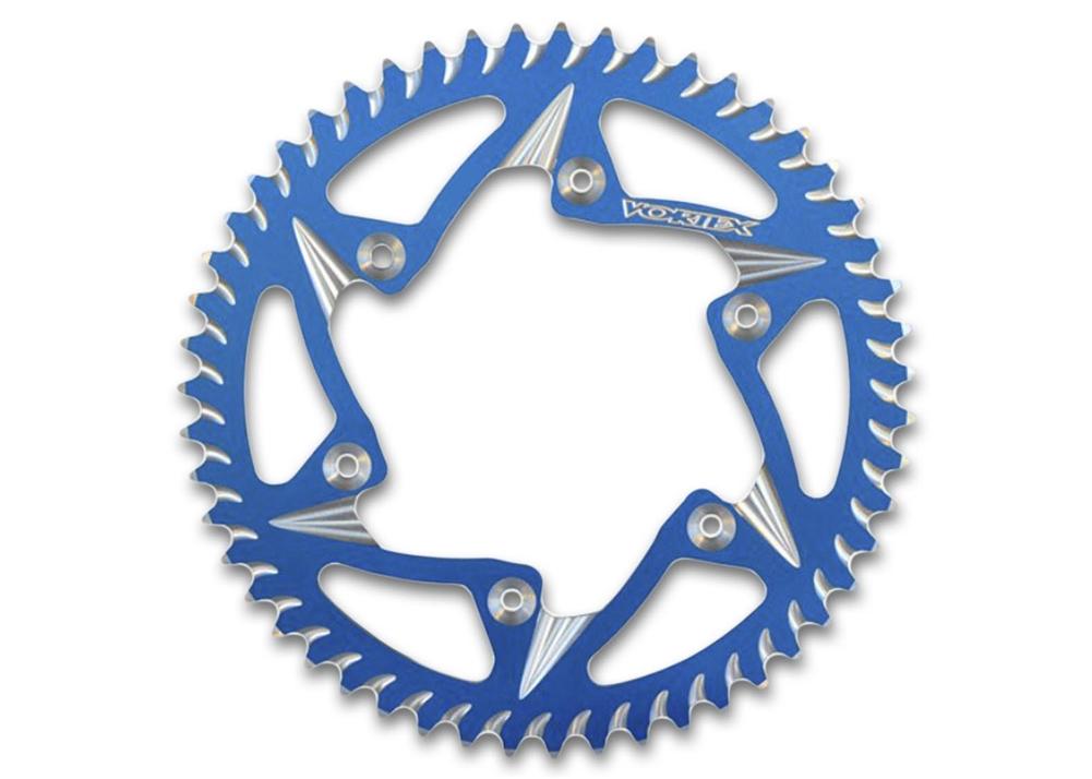 ボルテックス:VORTEXRCコンポーネンツホイール対応アルミ,リアスプロケット,530-43TブルーRear Sprocket Blue 530-43T