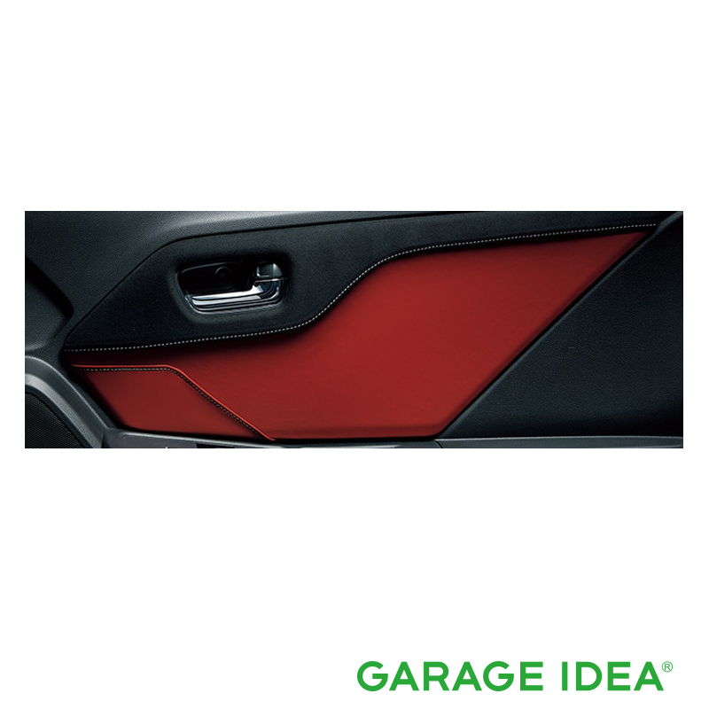 HONDA ホンダ 純正 アクセサリー パーツ S660ドアライニングパネル (左右セット/運転席側ポケット付) ラックス スェード×ボルドーレッド×グレーステッチ 08Z03-TDJ-010D JW5