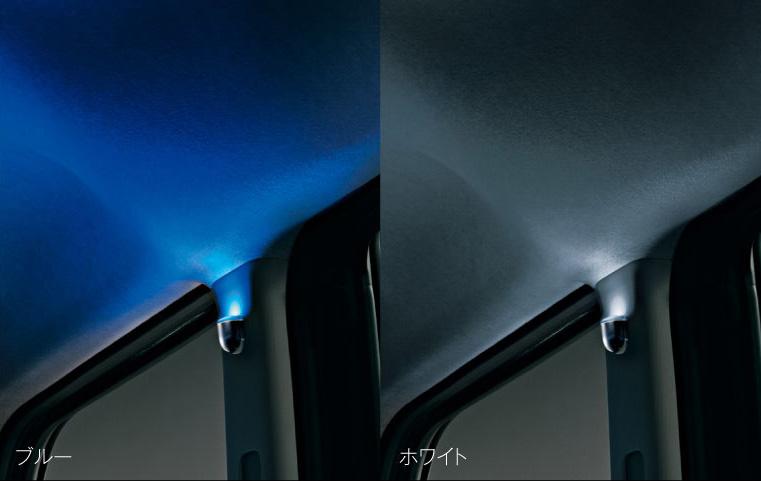 DAIHATSU ダイハツ 純正 アクセサリー Tanto タント Tanto custom タントカスタムフロア&センターピラーイルミネーション(2モードタイプ)(ホワイト)(ブルー)【08520-K2042】【08520-K2034】LA600S LA610S TANTO パーツ