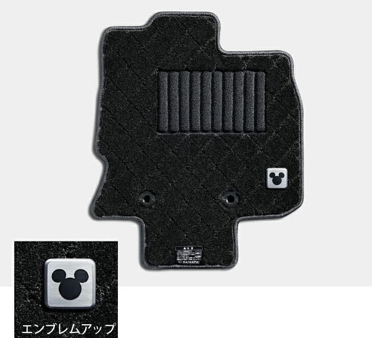 DAIHATSU ダイハツ 純正 アクセサリー パーツ Tanto タント Tanto custom タントカスタムカーペットマット (ディズニー) 1台分【08210-K2480】 LA650S LA660S