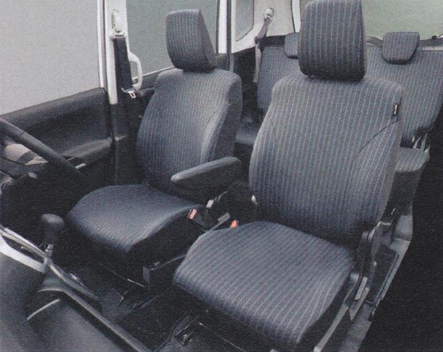 SUZUKI スズキ 純正 アクセサリー パーツ SOLIO ソリオシートカバー サイドエアバッグ有、リヤアームレスト有車用 1台分 99180-81P10 MA26S MA36S MA46S