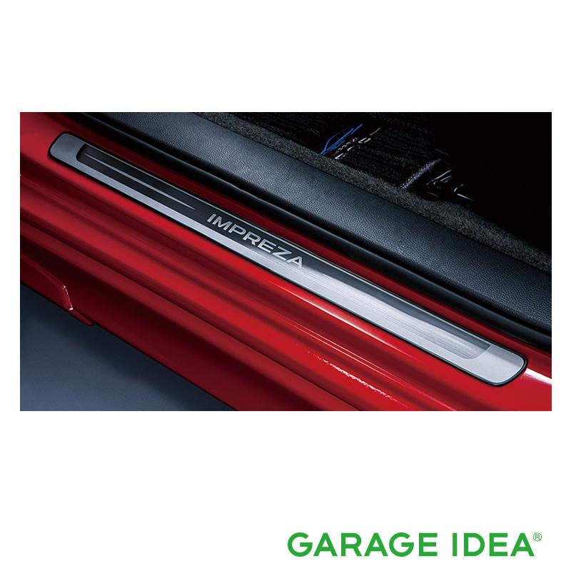 SUBARU スバル 純正 アクセサリー パーツ IMPREZA インプレッササイドシルプレート【E1017FL000】 GK2 GK3 GK6 GK7 GT2 GT3 GT6 GT7