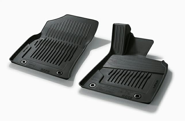 LEXUS レクサス 純正 アクセサリー パーツ ES300hスノー・レジャー用フロアマット (縁高タイプ) フロント用 2枚 08210-33500-C0 AXZH10