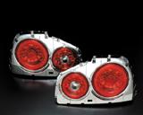 CLEAR WORLD(クリアワールド) R34 スカイライン LEDテールランプ【レッドレンズ】 ETN-08