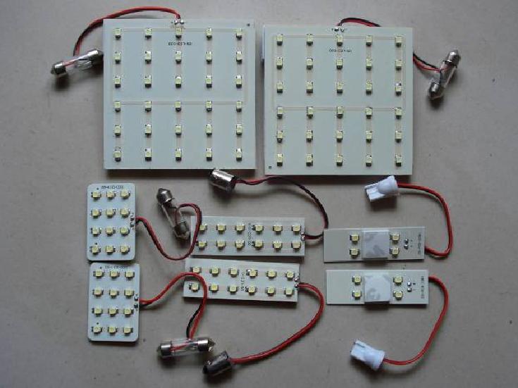 FRONTIER  LEDルームランプ&LEDナンバー灯 8点セット 200ハイエース/スーパーGL系