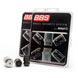 BBS ホイールセキュリティシステム(McGard) M12xP1.25 ブラック パーツNO,BBS LNM125C *ロック4個入り