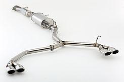 FGK フジツボ マフラー AUTHORIZE-R NISSAN エルグランドハイウェイスター/PE52系 2WD 3.5L(特注車除く)  22y8~  (570-17875)