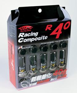 KYO-EI (KICS) Racing Composite R40 色(クラシカル) ナット (20個) 17HEX M12xP1.25 全長44mm (60°テーパー) 品番RC-03K