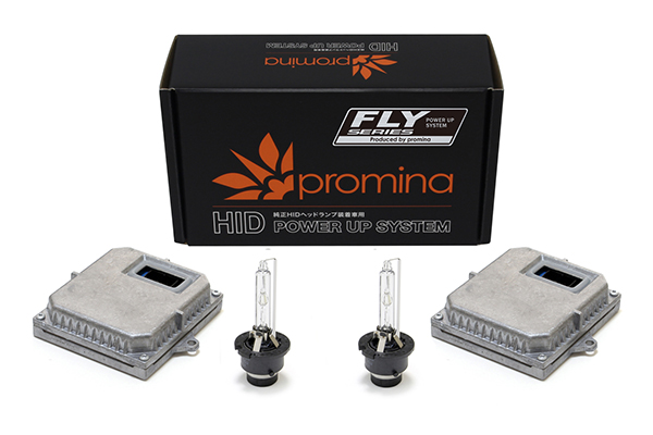 promina HID Power Up System FLY シリーズ C-TYPE 42W D2S Hyper 6000K PF4C2H6