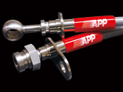 APP (ステンメッシュブレーキホース) ステンレスフィッティング フロント&リアセット  ホンダ ステップワゴン/ RK1-6 (HB033B-SS)
