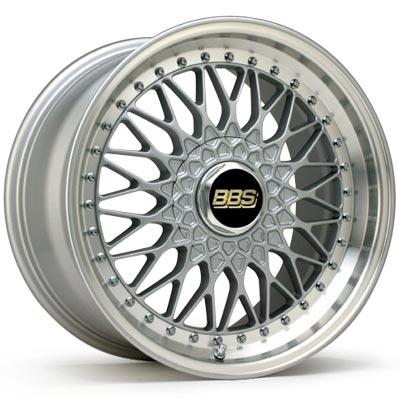 BBS SUPER-RS 3P RS556&RS559(20インチx8.5JJ 5H120 +32&20インチx9.5JJ 5H120 +40 各2本)色 シルバーポリッシュ F10系BMW 4本 1台分 *フロントとリアがサイズ違いです。*純正ボルトをご使用となります。