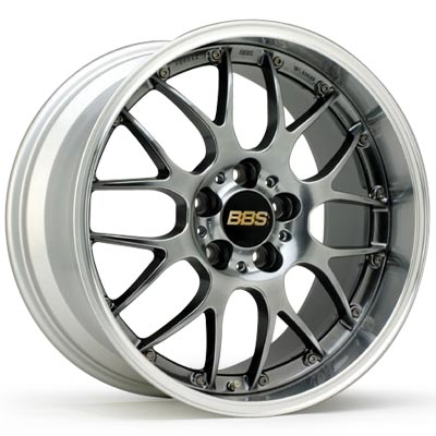 BBS RS-GT (アルミ鍛造 2ピース)RS-985&RS-986 DBーSLD (19x85 5H120 +33&19x95 5H120 +35)BMW/E90(VB30)用 4本 1台分