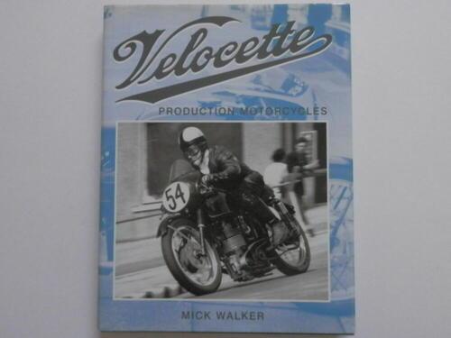 VELOCETTE PRODUION MOTORCYCLES