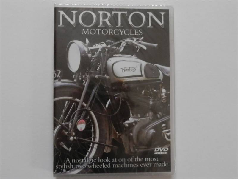 A NOSTALGIC LOOK AT ON OF THE MOST STYLISH TWO WHEELED MACHINES ノートン モーターサイクル DVD  NORTON MOTORCYCLES DVD【クラシックバイク BSA ノートン トライアンフ】