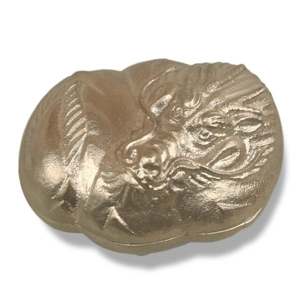ジュエリーボックス ジュエリーケース 干支の小箱 辰 白銅 高岡銅器 小物入れ