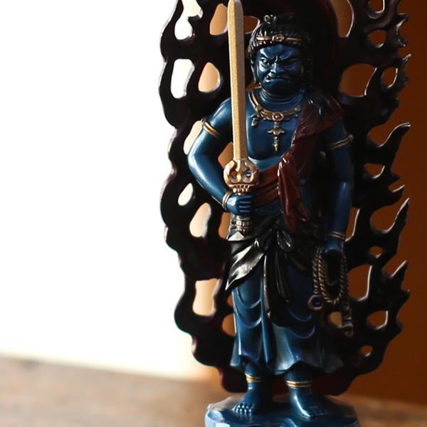 Acala Buddha blue