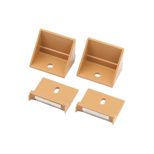 送料無料新品 ラティスを柱に取り付ける為の部材 フェンス1枚につき1セット必要です ウッディープラフェンス柱用金具 MNO-K04W MNO-K04N MNO-K04D 他のご使用はお控えください フェンス1枚分入り 部品4ヶ入り 樹脂製 ウッディプラフェンス専用です 送料込