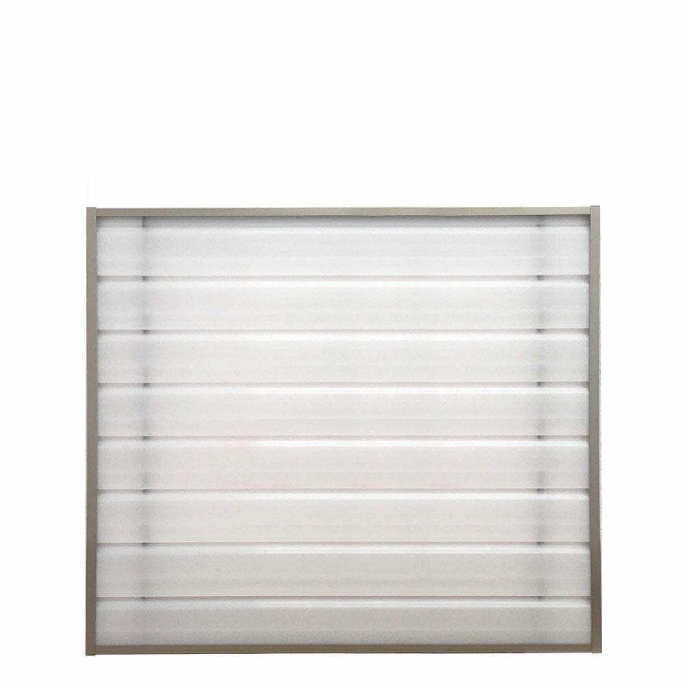 目隠しスクリーンパネル 【幅95cm 高さ73cm】 風呂場 浴室 窓 目隠し 脱衣所 窓格子の目隠し