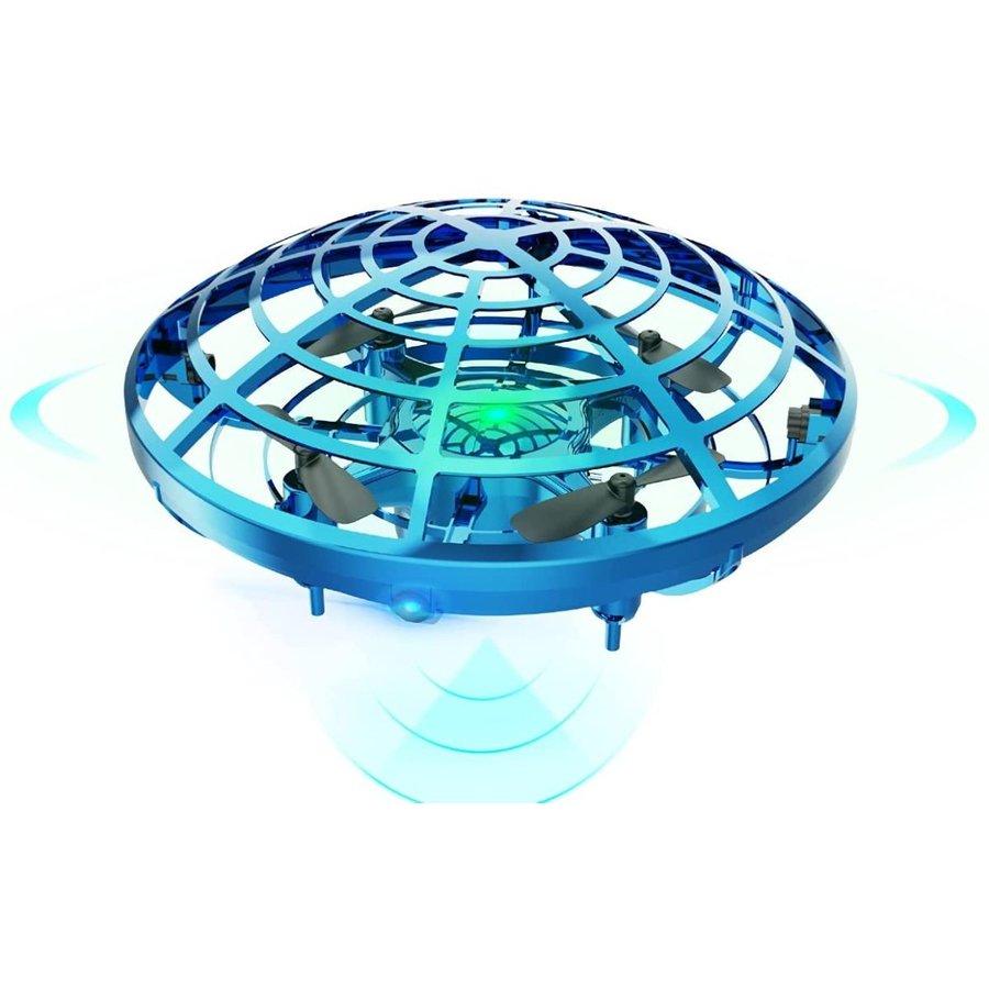 ドローン こども向け 新品 おもちゃ ラジコン ヘリコプター UFO [宅送] 室内 五つのセンサーが搭載 360度回転 ミニドローン ジェスチャー制御 ハンドコントロール