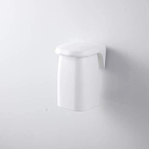 歯ブラシカップ 歯磨きコップ 磁気 歯ブラシマウスウォッシュカップ 最新号掲載アイテム ホワイト 代引き不可 壁掛け浴室マウスウォッシュカップ