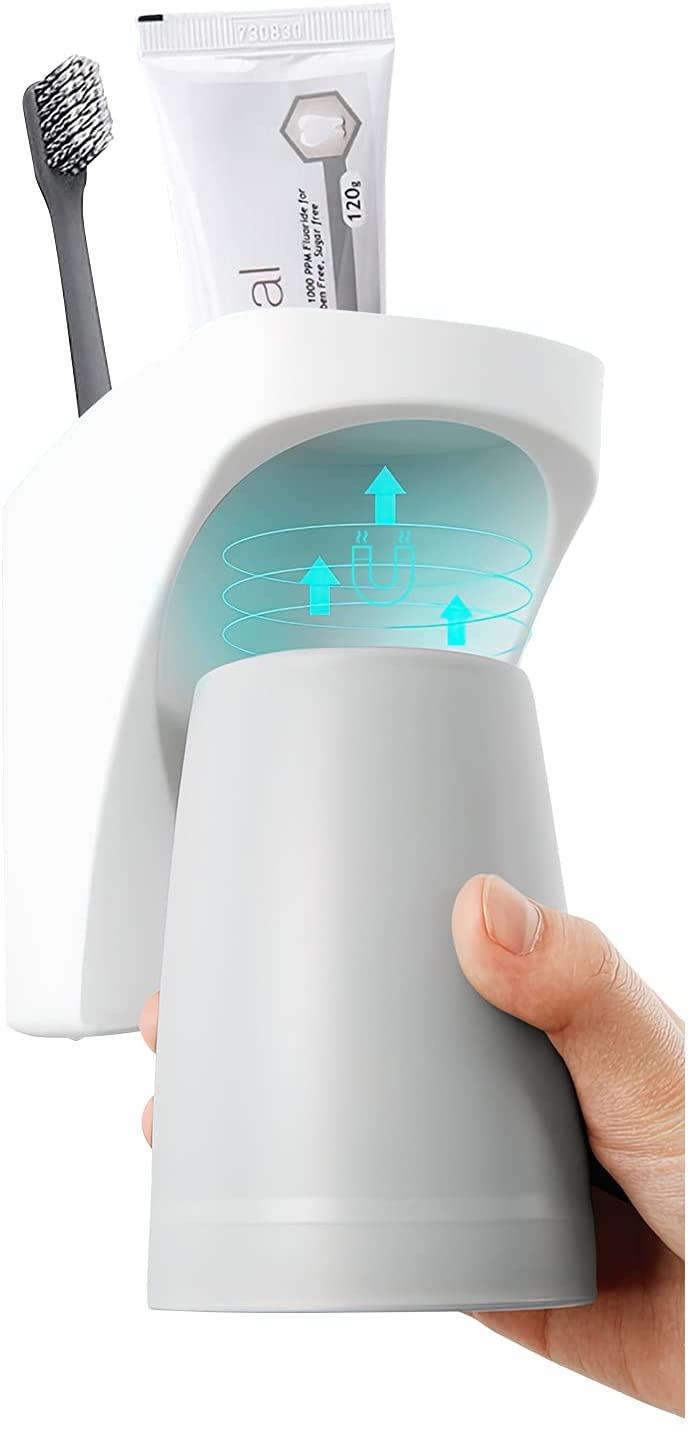 歯ブラシ スタンド 歯ブラシホルダー 吸盤 洗面所 収納 用来電動歯ブラシ 全店販売中 健康おしゃれ お気にいる 歯磨き粉カップ コップスタンド 創造性 水垢防止防塵