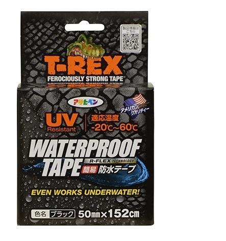 オープニング 大放出セール 3 300円以上で送料無料※一部地域除く 補修用超強力 防水テープ 送料無料限定セール中 TAPE WATERPROOF T-REX 50mmx152cm