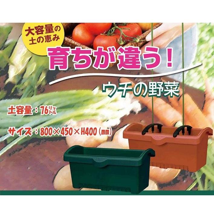 ★5個セット販売★しゅうかく菜800型プランター【支柱ホルダー付き】 5個セット プランター