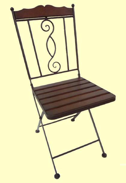 アイアン製 ガーデンチェア【MO-12-22】 1脚★代引きの場合は別途+3,000円追加送料★