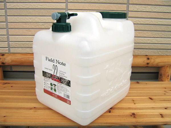 【送料無料】ウォータータンク22Lコック付き水缶 8個セット ポリタンク
