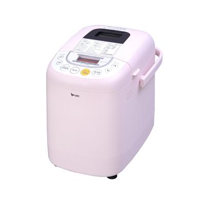 【送料無料】MK(エムケー)ふっくらパン屋さんパン焼き機 ホームベーカリー HBK-101P ピンク