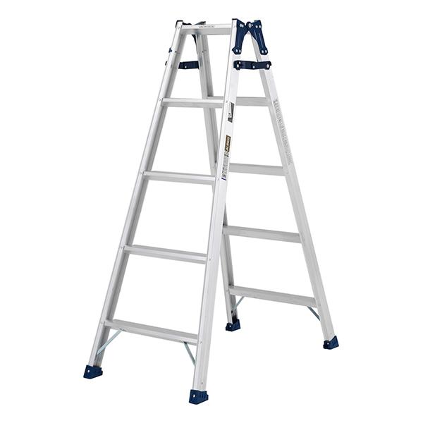 【送料無料】ステップ幅広兼用脚立 MXA150W はしご兼用脚立